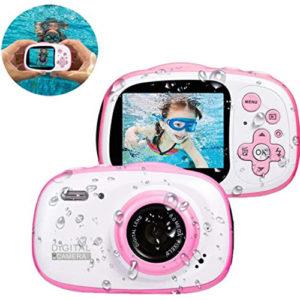 מצלמה לילדים לצילום רגיל ובתוך מים