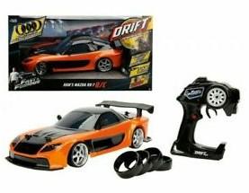 """עוד מוצר איכות מהמותג המבוקש """"ג'אדה"""" והפעם מכונית ג'אדה - מכונית שלט דריפטים!!! המזדה הכתומה של האן!! כולל גלגלים להחלפה!!! מודל 110!!"""